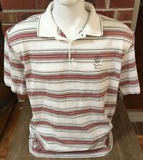 Nike Short Sleeve Striped Polo Golf Shirt Phantom Horse Arizona Course XL