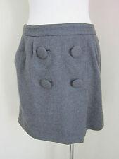 Wool Blend Above Knee A-Line Regular Size Skirts for Women