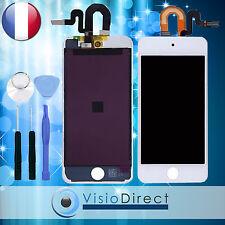 Ecran complet pour iPod touch 5 blanc vitre tactile+ecran LCD sur chassis+outils