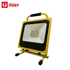 50W Rechargeable 104 LEDs Portable Flood Spot Work Light Camping Outdoor Lamp AU