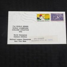 1973 World Series Oakland Athletics/New York Mets Stamped Envelope