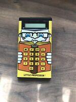 Little Professor Classic Electronic Calculator Texas Instruments 1984