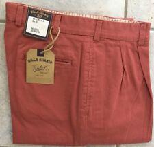 BRAND NEW-Bills khakis M2P-VTWR Size 36 PLEATED WEATHERED RED VTG TWILL  $165