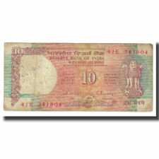 [#618052] Banknote, India, 10 Rupees, KM:24, VF