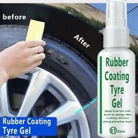 Car Tire Coating Agent Brightener Tire Protector Tire Restoration Tool 20ml New