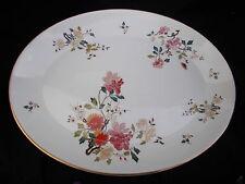 Royal Albert CHINA GARDEN New Romance Oval Meat Dish. Diameter 16 1/2 x 12 1/2