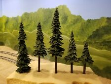 "15"" Pine Trees for  model railroad , doll house and Star Wars Game Tables"