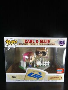 Carl and Ellie Funko Pop 2020 fall convention exclusive Disney  up movie