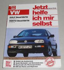 Reparaturanleitung VW Golf III / 3 + Vento Diesel / SDI / TDI ab Baujahr 1991