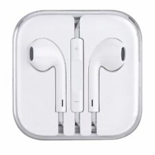 Earphones Earbuds Headphone w Remote Mic for Apple EarPods iPhone 5 5s 6 6s Plus