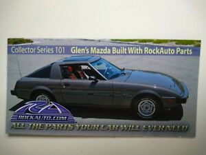 ROCKAUTO ROCK AUTO Collector Series 101 Car Magnet MAZDA
