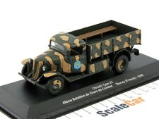 Citroën Type 23 Camion Flatbed Truck 49th Batallion Tannay 1940 Eaglemoss 1/43