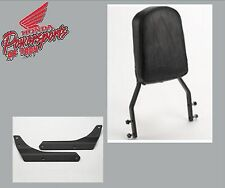 NEW GENUINE HONDA BLACK TALL BACKREST W/ BRACKETS VT750C2B SHADOW PHANTOM