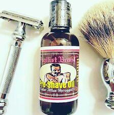 Pre-Shave Oil -  Cedar Atlas Shrugged Fragrance