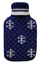 Copo de Nieve de Punto Azul 2.0L Botella de Agua Caliente