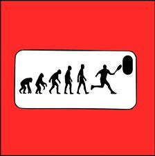 IPhone 5/5s Custodia, Evoluzione Tennis, Fan, Hobby, Bel Regalo