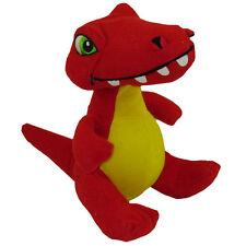 Stuffed Animal Plush - REX the Red Dinosaur (Small - 7 inch) - New