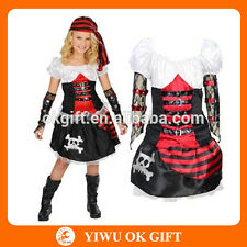 Costume piratessa deluxe bimba