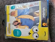 Adult Despicable Me Minions Halloween Costume Jumpsuit Medium