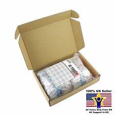 100value 1000pcs 1W Metal Film Resistor +/-1% Assortment Kit US Seller KITB0136