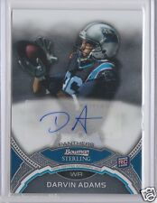 Blue Bombers pre CFL Darvin Adams 2011 Bowman Sterling Autograph Rookie AUTO