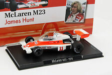 James Hunt McLaren m23 #11 Coupe du monde de Formule 1 1976 1:43 ALTAYA