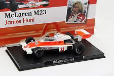 James Hunt McLaren  M23 #11 Weltmeister Formel 1 1976 1:43 Altaya