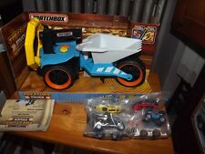 MATCHBOX TREASURE TRUCK METAL DETECTOR WITH PACK OF CARS, NEW IN BOX