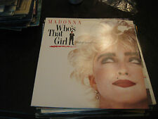 Madonna; Who's That Girl    on LP