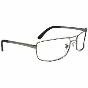 Ray-Ban Sunglasses Frame Only RB 3212 004/9A Gunmetal Pilot Metal Italy 61 mm
