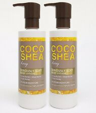 2 Bath & Body Works COCO SHEA HONEY Seriously Soft Body Hand Lotion 24HR Moist