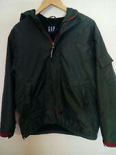 Mens GAP Green Overhead Hooded Fleece Lined Jacket Size M Medium