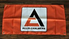 New Allis-Chalmers Banner Flag Allis Chalmers Tractor Farm Equipment Machinery
