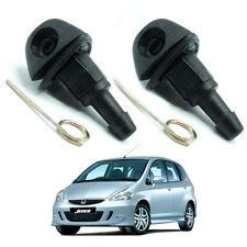 WindShield Washer Wiper Water Spray Jet Nozzle 4Pc For Honda Jazz Fit 2004 - 08