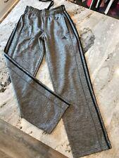 Men's S Adidas Sweatpants Gray Black Athletic pants