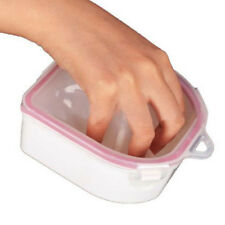 Nail Art Tip Remover Manicure Tool Bowl Resistant Acetone Nail Soak Off Acrylic
