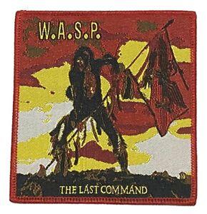 W.A.S.P. - The Last Command - Woven Patch Cloth Badge Rare Aufnäher écusson WASP