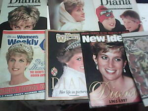 Princess Dianna tribute Vintage 1990s Magazines/Womens Weekly