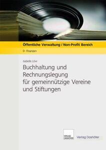 Buchhaltung und Rechnungslegung für gemeinnützige Vereine und Stiftungen