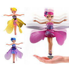 DIY Flying Fairy Dolls for Girls Learning Education Infrared Induction Control