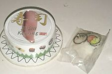 FAKE FOOD CLEVER IDIOTS VINYL SUSHI KEYRING CALIFORNIA ROLL OPEN PACKAGE NO GUES