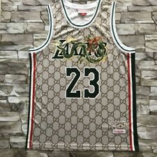 LeBron James 23# Basketball Jersey Dragon Stripes Special Edition Lakers