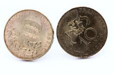 """Boutons de manchettes Pièce de Monnaie Authentique """" France """" 10 francs Conquête"""