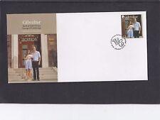 Gibilterra 2013 Nascita del Principe George William Kate Katherine FDC GIF PMK speciale