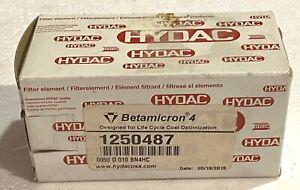 Hydac Filter Elements– 16 GPM – 10 Micron (0060 D 010 BN4HC)
