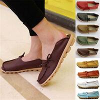 New Ladies Loafers Womens Casual Vintage Flats Work Office School Shoes 2016 AA