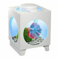 Tetra 1.8l Betta Projector Fish Aquarium - White (T709455AU)