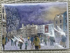 Broad Street Oxford Painting By Ken Messer Charity Christmas Cards Pack Of 5