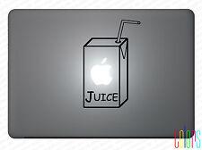 """Juice Apfelsaft Saft Tüte für Apple Macbook 13"""" 15"""" Pro Air Sticker Aufkleber"""
