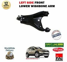 FOR DACIA DUSTER 1.6 1.5 DCI 2012-> NEW LEFT SIDE LOWER SUSPENSION WISHBONE ARM